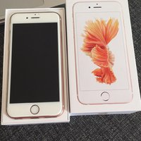 Iphone 6s 16 rose gold olåst