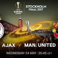 Ajax Amsterdam Vs Manchester United Karten Finale UEFA Europa League 2017 Stockholm