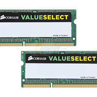 Corsair Value Select 8GB/ 1600MHz / DDR3 / CL11 / CMSO16GX3M2A1600C11
