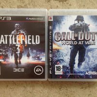 BATTLEFIELD 3 OCH CALL OF DUTY WORLD OF WAR TILL PS3