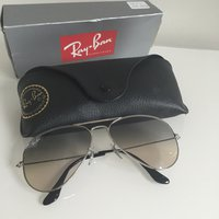 Ray Ban aviator large metal 3025 003/32 grå/blå
