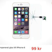 Glas till iphone 6