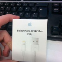 Apple USB-kabel (lightning) 1M