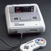 Super nintendo och super mario world