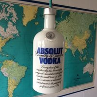 Unik taklampa - Absolut Vodka