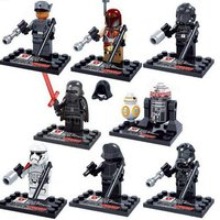 Star Wars Force Awakens, ej LEGO, 8st minifigurer. NYTT!
