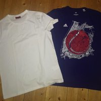 Adidas och Hugo boss t-shirtar Large