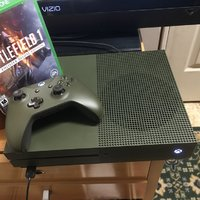 Xbox one S BF1 special edition