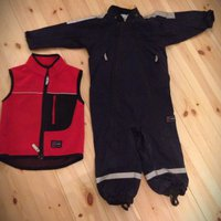 Polarn o pyret overall och fleece