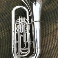 Besson Sovereign BE994-2 BBb Tuba-Silver
