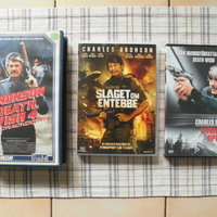 Charles Bronson. Death Wish 4 mm. Vhs+Dvd's.