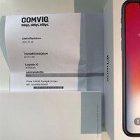 Iphone X 64GB (rymdgrå)