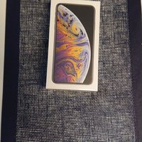Apple Iphone XS Max 64Gb Silver Oöppnad