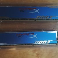 RAM minne 2x2G Kingston DDR3