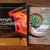 Strength and Conditioning & deep nutrition böcker