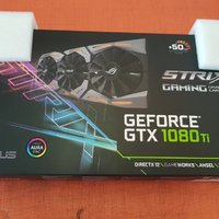 ASUS NVIDIA (R) GeForce GTX 1080TI GAMING 11GB ROG STRIX 1080