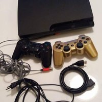 Ps3 slim 160 Gb med 37 spel