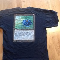 "T-shirt Magic The Gathering, ""Black Lotus"""