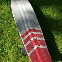 Warp wood cruiser 26 skateboard