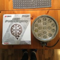 Extraljus LED 225 mm