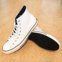 Converse CT Patent Leather Hi Top White (Limited Edition) Strl: 42,5
