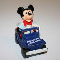Mickey´s Mail Jeep