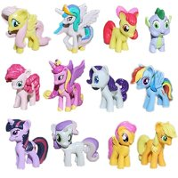 12 st MY LITTLE PONY PVC - Fri Frakt