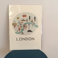 "Print ""London"" från RIFLE PAPER Co."