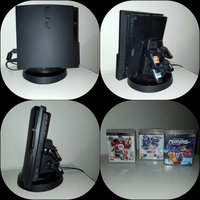 Playstation 3 PS3 med laddningsstation