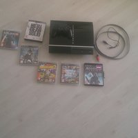 Playstation 3 120gb minne + spel