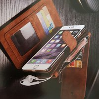 I phone samsung leather cover