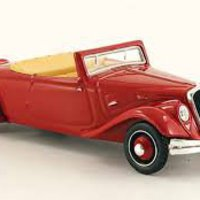 Citroen Traction Cabriolet 22cv-Model