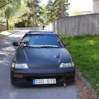 Honda civic crx.