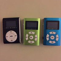 3 styck digital mp3 player