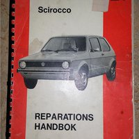 VW GOLF Scirocco REPARATIONS HANDBOK