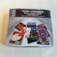 Tony Crombie. Seven Classic Albums + Bonus. Jazz. 4-cd box.