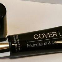 Isadora cover up; Foundation och concealer  no: 60 light cover