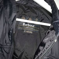 Barbour Quilted Jacket SVART (Herr)