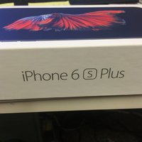 iPhone 6S plus 16GB Svart (space grey) olåst