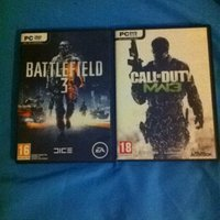 Battlefield 3 och call of duty billigt