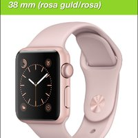 Söker apple watch rosa/guld