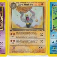 Pokémon 1st Generation common & uncommon Trading Cards.