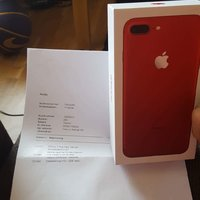 Iphone 7 plus 128 gb RED limited Edition