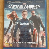 Captain America: The Winter Soldier (Blue Ray) Ny!