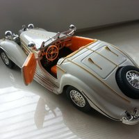 1936 Mercedes-Benz 500K Roadster 1/24