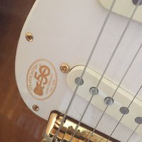 Fender Stratocaster 50 year anniversery limited edition.