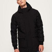 Superdry edit commuter parka.