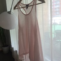 H&M pink maxi top size S