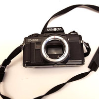 Classic Minolta x300 analogue camera