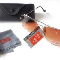 Ray-Ban Aviator RB3025 - Brunt glas